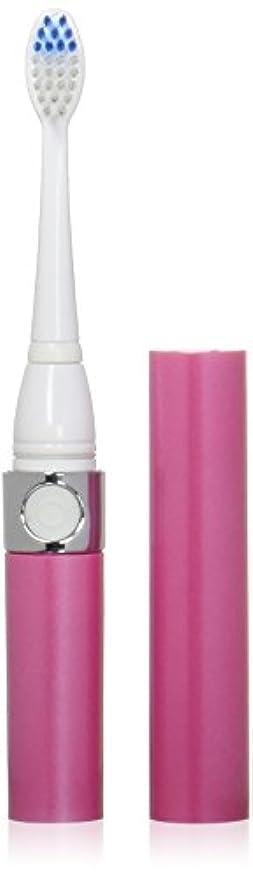 理論的カレッジ手数料音波式電動歯ブラシ ピンク 替ブラシ2本付