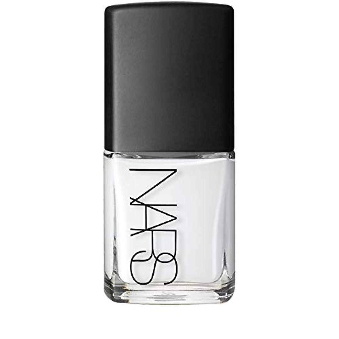 納屋ボウル休憩[Nars] Ecume白ネイルポリッシュのNar - Nars Nail Polish in Ecume White [並行輸入品]