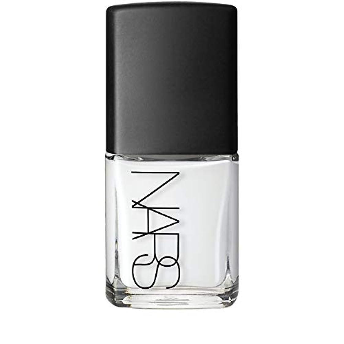 シリーズ一人で爪[Nars] Ecume白ネイルポリッシュのNar - Nars Nail Polish in Ecume White [並行輸入品]