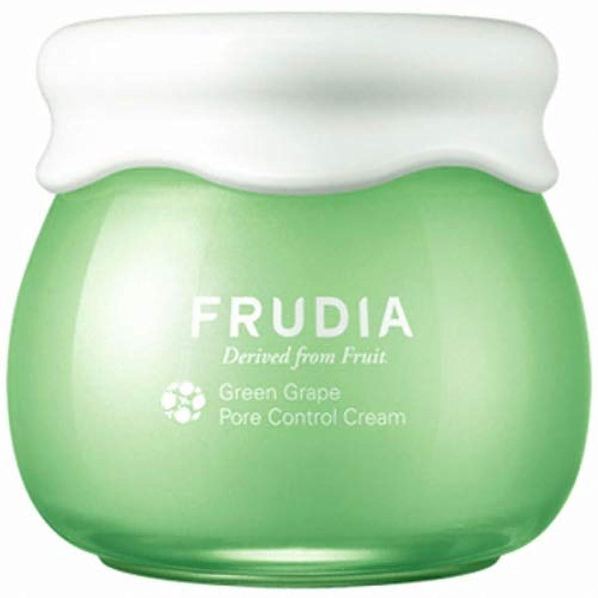 フェリー民兵溶けたFRUDIA マスカット ポア コントロール クリーム/Green Grape Pore Control Cream (55g) [並行輸入品]