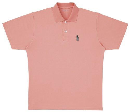 ゴーセン(GOSEN) ワンポイント ポロシャツ パウダーオレンジ L T1308 4