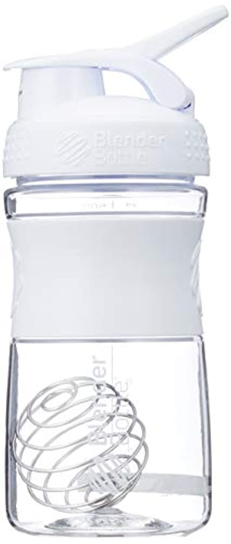売り手クライマックスインストラクターブレンダーボトル 【日本正規品】 ミキサー シェーカー ボトル Sports Mixer 20オンス (600ml) ホワイト BBSME20 WH