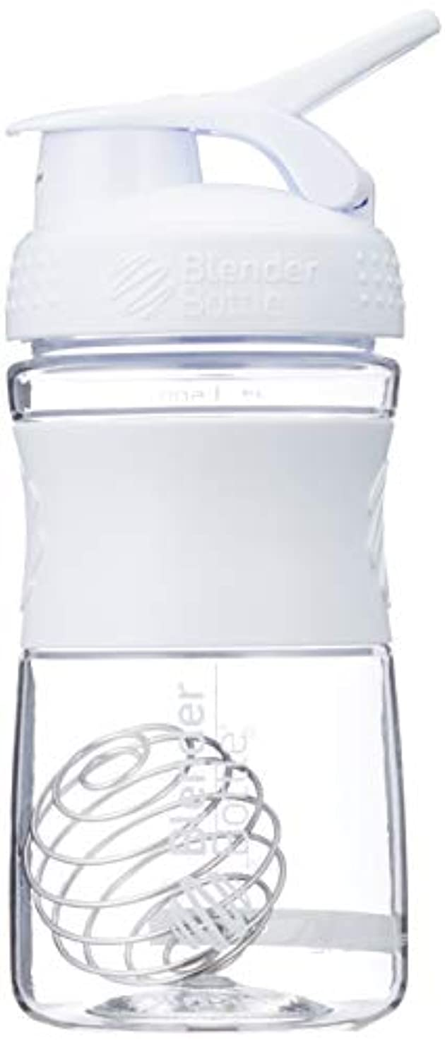 委託あなたは合図ブレンダーボトル 【日本正規品】 ミキサー シェーカー ボトル Sports Mixer 20オンス (600ml) ホワイト BBSME20 WH