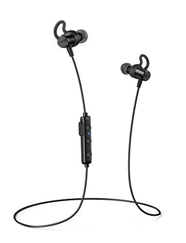 Anker SoundBuds Surge (Bluetoothイヤホン)【マグネット機能 / IPX4防水対応 / トラベルポーチ付属】iPhone、Android各種対応