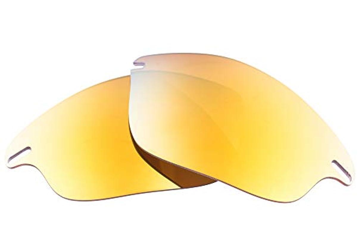 洞察力のあるハリケーン穿孔するLenzFlip Oakley Fast Jacket 交換レンズ 偏光 マルチオプション オークリー ファストジャケット レンズフリップ
