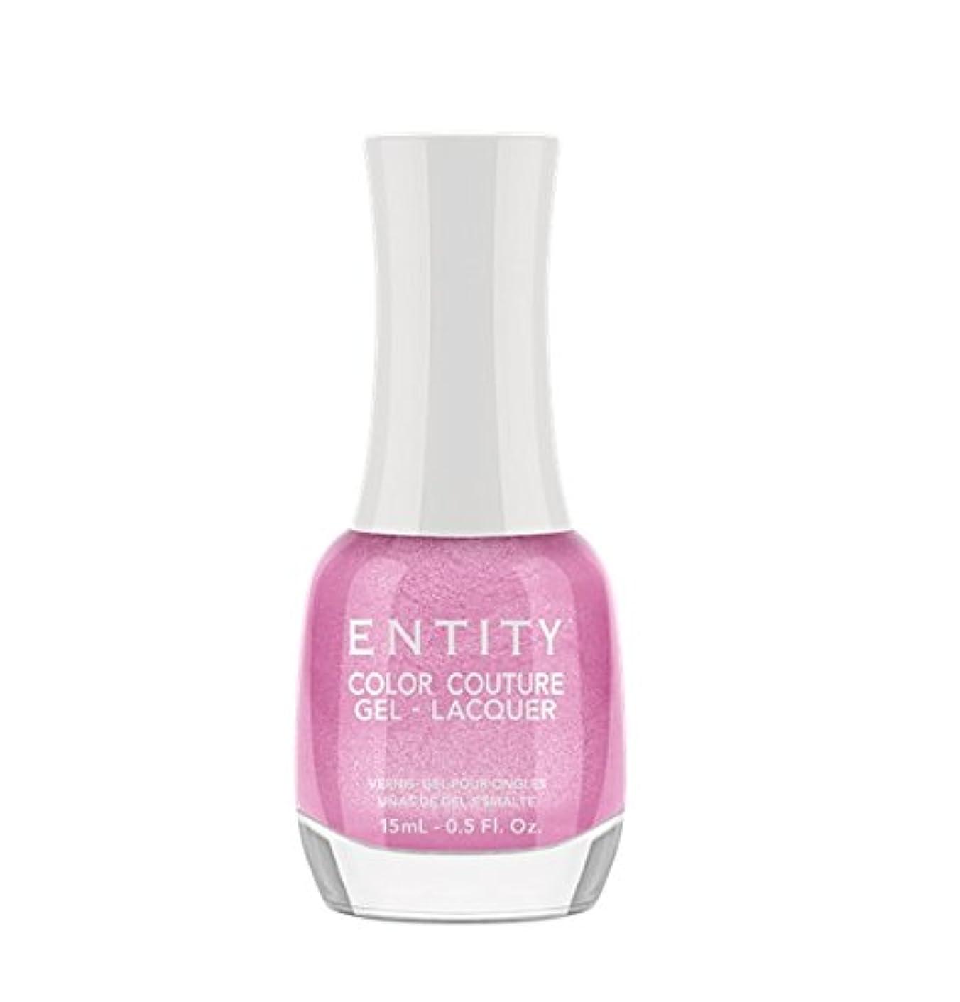 びっくりしたイサカ持参Entity Color Couture Gel-Lacquer - Ruching Pink - 15 ml/0.5 oz