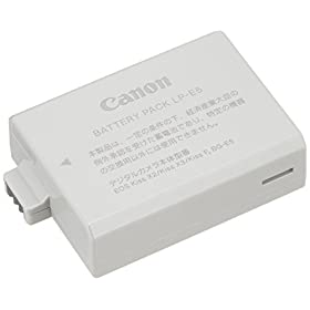 Canon バッテリーパック LP-E5