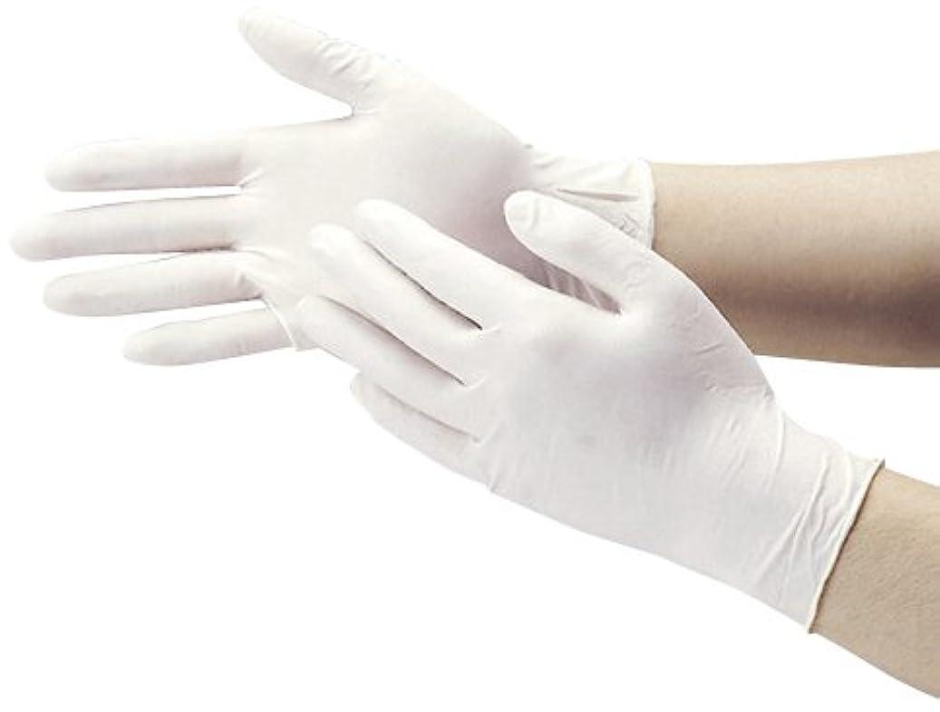 パドルアライアンス乳白色粉なし天然ゴム極うす手袋 7557(M)100???? ????????????????????(24-6846-02)【ダンロップホームプロダクツ】[20箱単位]