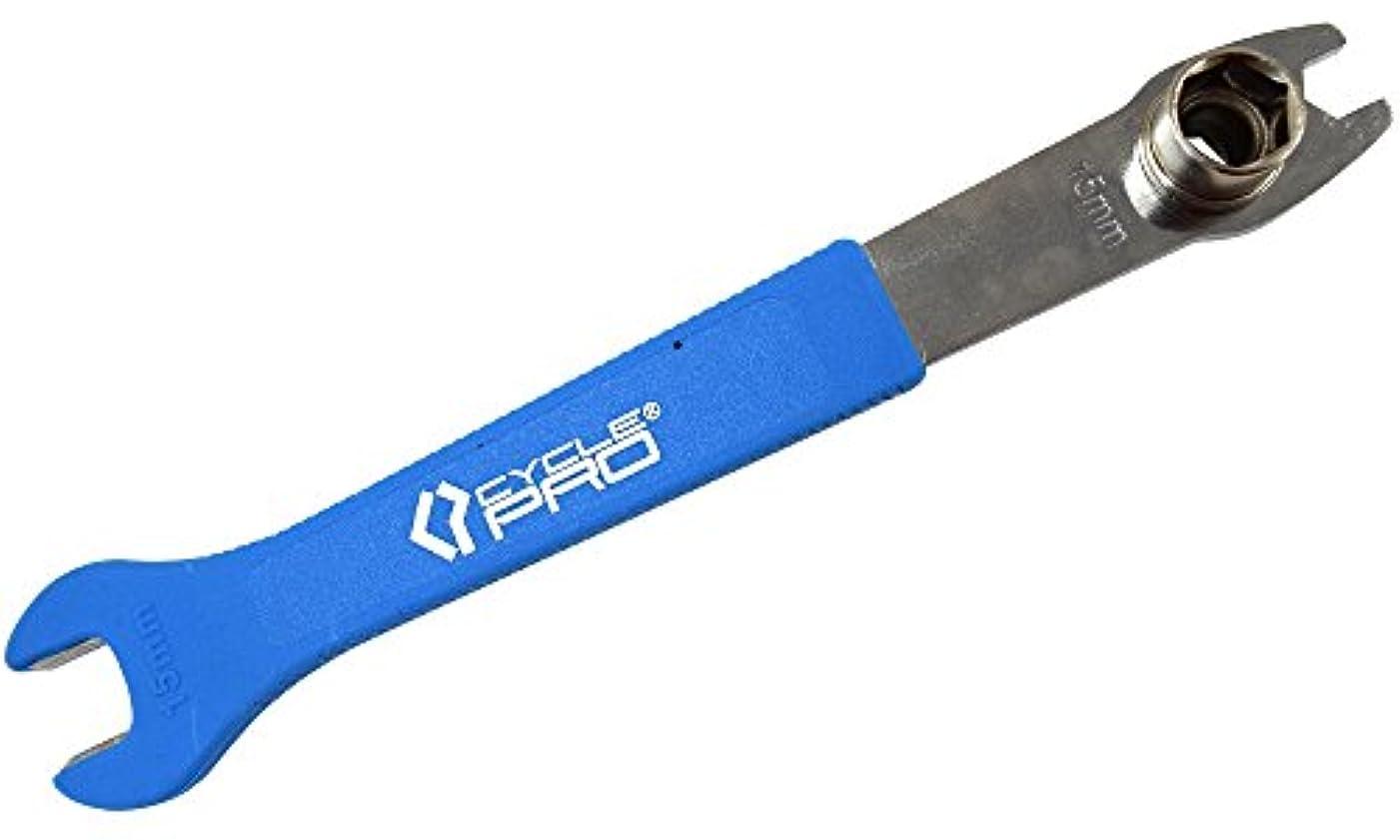ランドマークパワー感謝しているCYCLE PRO(サイクルプロ) ツール ペダル&BO×レンチ 14mm/15mm 10mm ピスト用に便利 オープンエンド CP-TL161SP