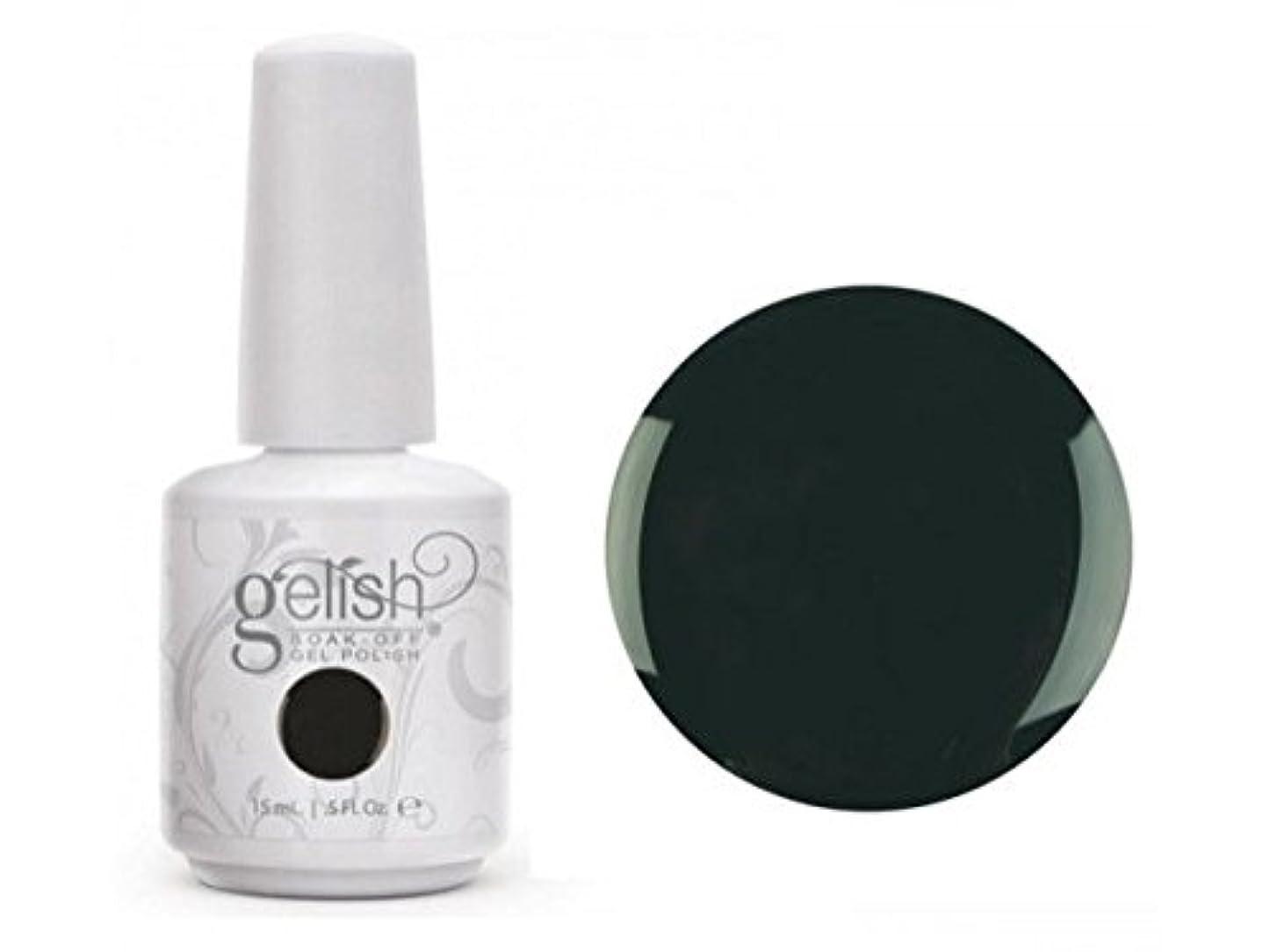 リクルートマウント激しいHarmony Gelish Gel Polish - Rake in the Green - 0.5oz / 15ml