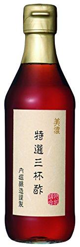 内堀醸造 美濃 特選 三杯酢 瓶 360ml