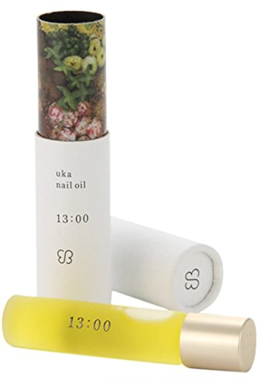 とげ方法論何故なのウカ(uka) ネイルオイル 13:00(イチサンゼロゼロ)〈リフレッシュできる香り〉 5ml