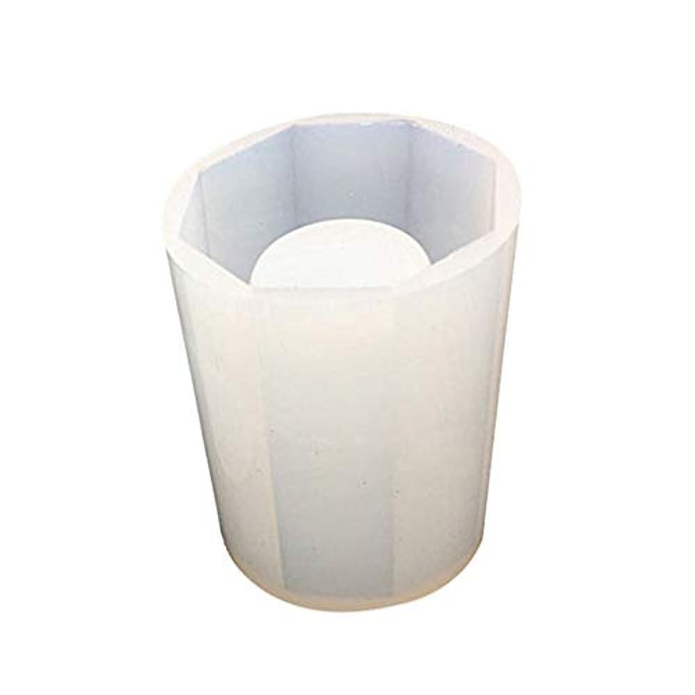 飽和する飽和する論理HEALLILY 樹脂シリコーン金型ペンホルダー金型クリスタルエポキシシリコーン鋳造金型用diyクラフト石鹸キャンドルペンホルダー