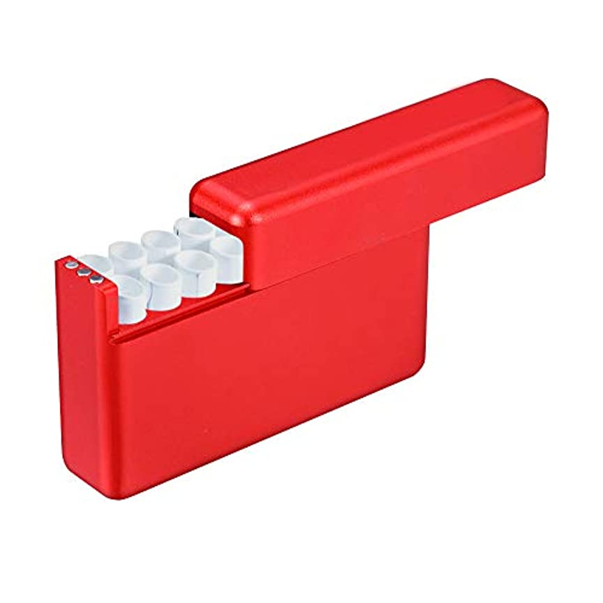 に賛成防止代表XFS タバコケース タバコ入れ IQOSタバコ専用ケース iQOSヒートスティック用箱 アイコスケース 電子タバコアクセサリー 18本入れ シガレットケース 煙草箱 タバコ収納箱 アルミ合金タバコ弾箱
