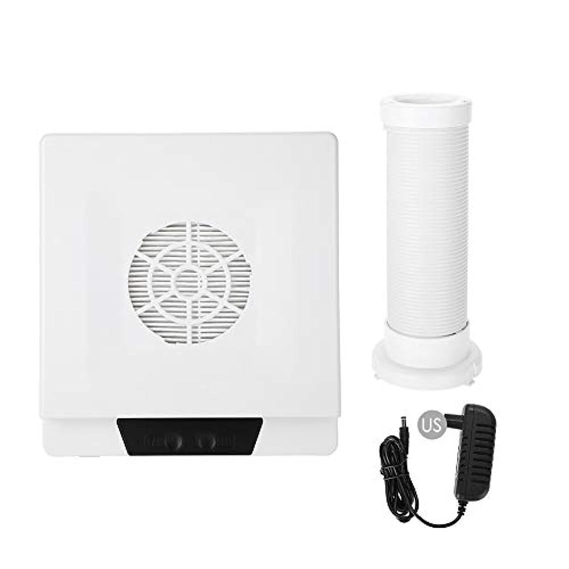 データムピニオン窓TOPINCN 60W 強い力 ネイルアートダストサクション ネイルアート集塵機 マニキュア掃除機 ネイルダストクリーナー(02)