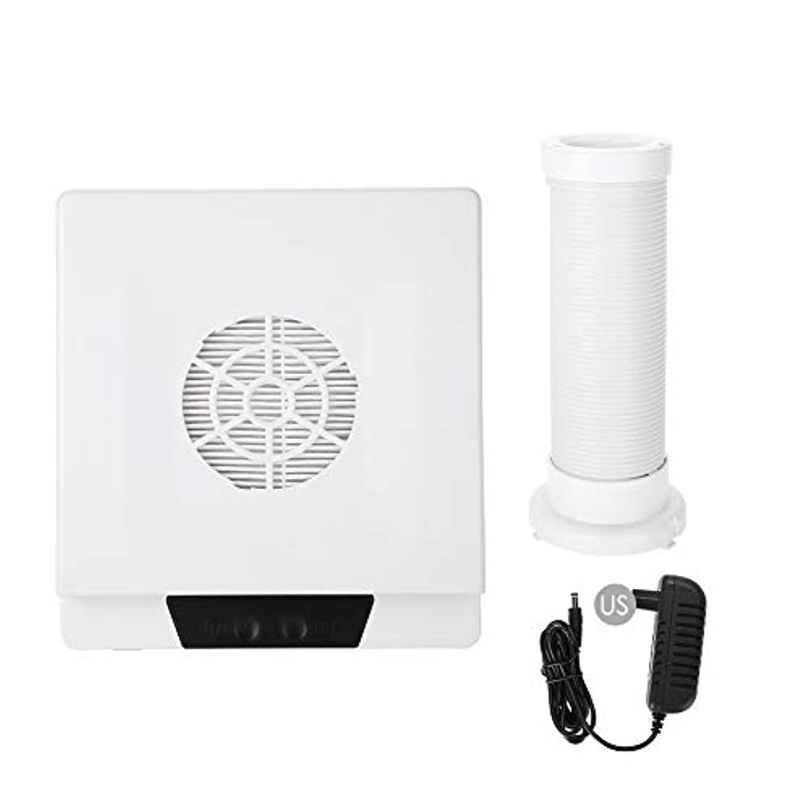 移植ホイールくすぐったいTOPINCN 60W 強い力 ネイルアートダストサクション ネイルアート集塵機 マニキュア掃除機 ネイルダストクリーナー(02)