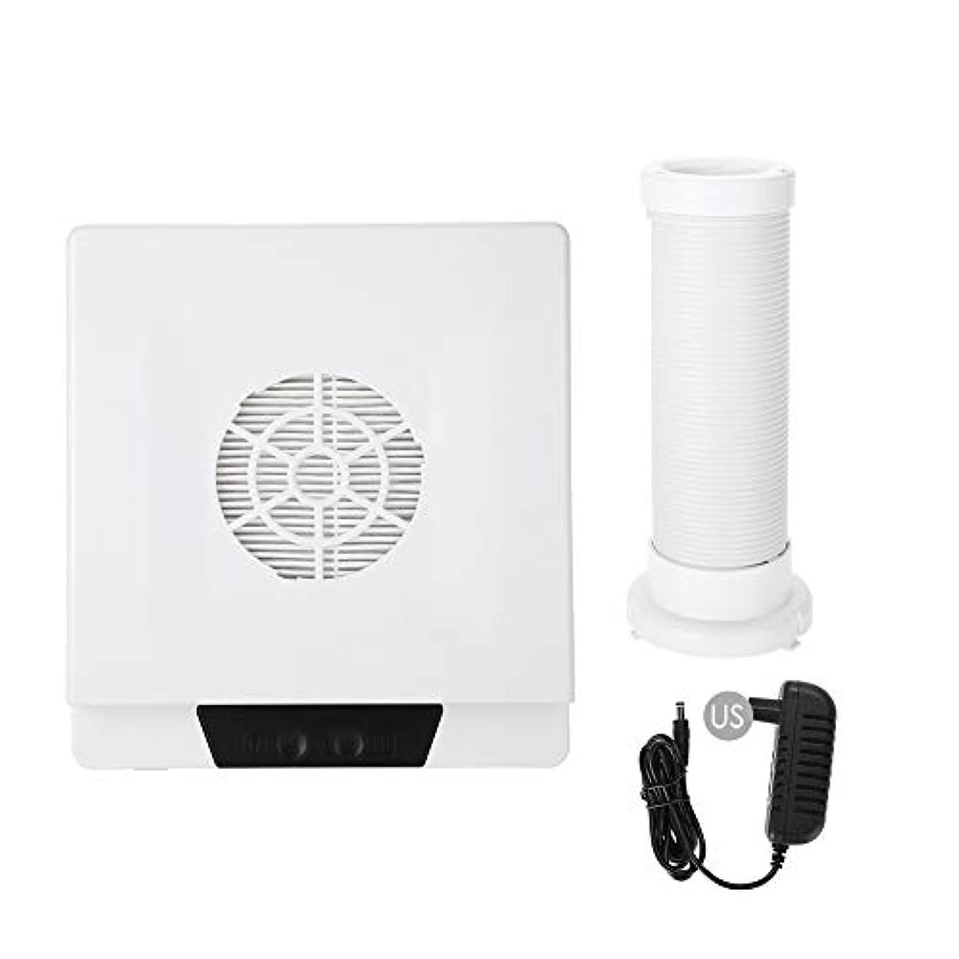 工業用好意支配的TOPINCN 60W 強い力 ネイルアートダストサクション ネイルアート集塵機 マニキュア掃除機 ネイルダストクリーナー(02)