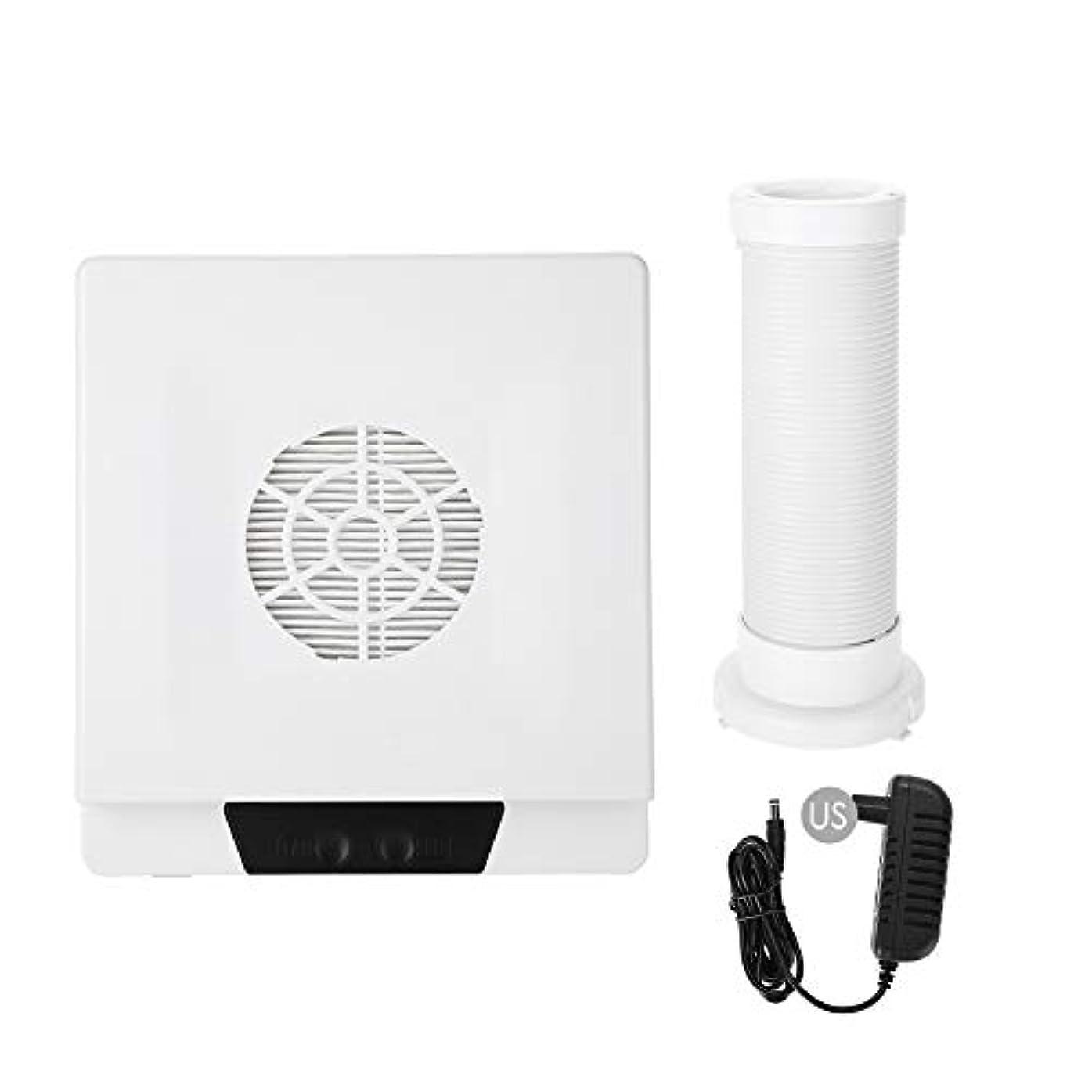 基本的なビュッフェバッフルTOPINCN 60W 強い力 ネイルアートダストサクション ネイルアート集塵機 マニキュア掃除機 ネイルダストクリーナー(02)