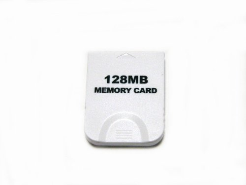 GCゲームキューブ8倍128MBメモリーカード2043ブロッ...