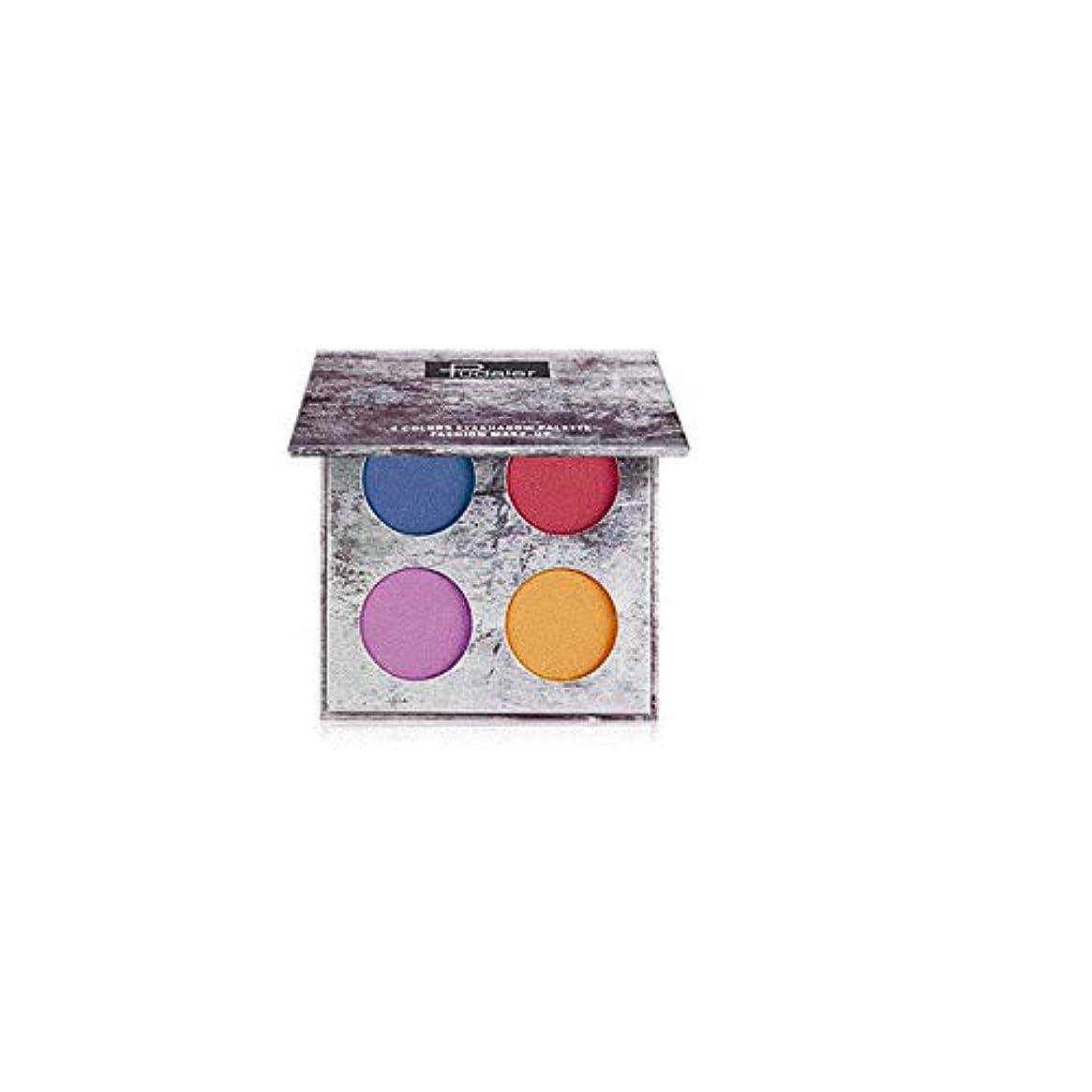 スーパーマーケット宝石デイジーLazayyii 4色アイシャドウ アイシャドウパレット 化粧品 マット (C)
