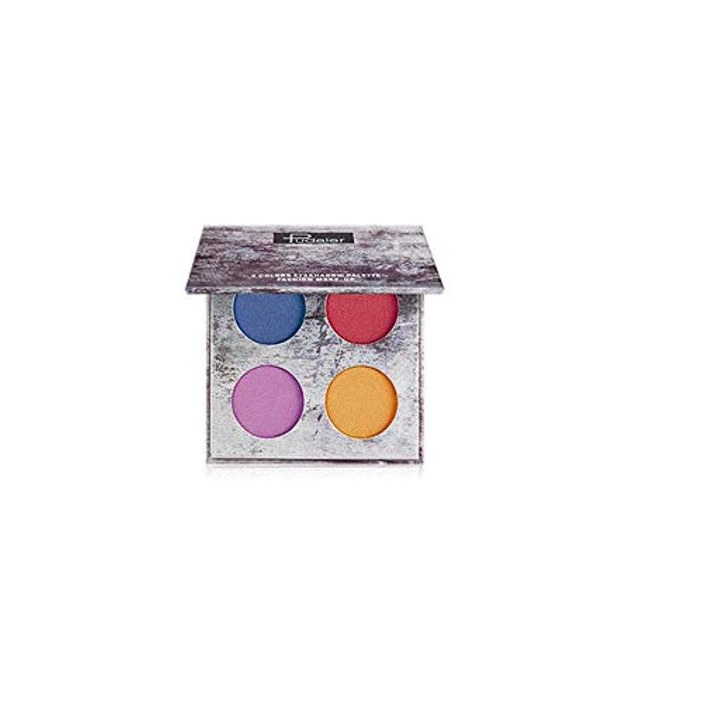 スリラー変更可能冷えるLazayyii 4色アイシャドウ アイシャドウパレット 化粧品 マット (C)