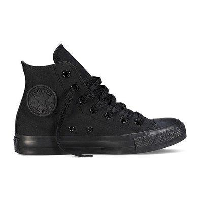 (コンバース) CONVERSE CANVAS ALL STAR HI キャンパス オール スター ハイ BLACK MONOCHROME 黒ブラックモノクローム 32060187 28.5cm(US10)
