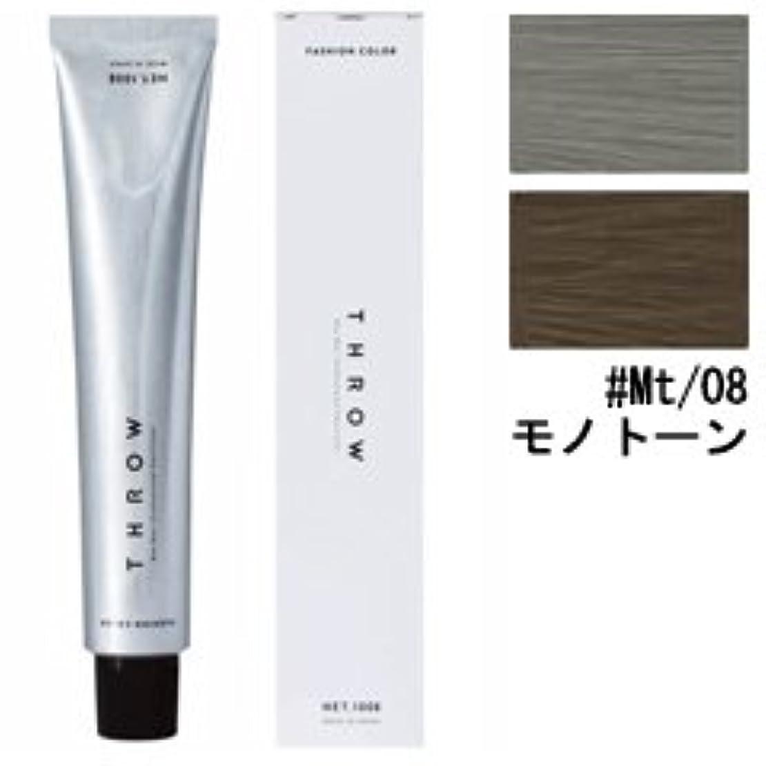 コードレス凶暴な変更可能【モルトベーネ】スロウ ファッションカラー #Mt/08 モノトーン 100g