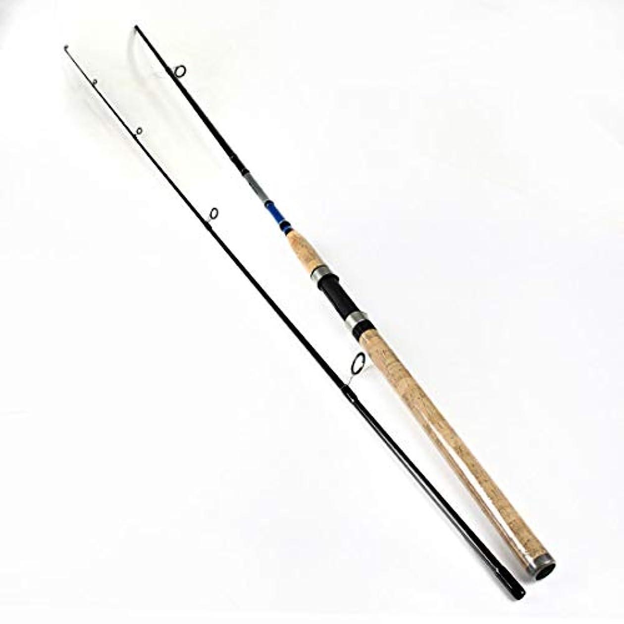 汗表示リーフレットLonglong 釣り竿 釣り用品 炭素 釣り具 投げ竿 コンパクトロッド軽量 海釣り 船竿 堤防釣り 釣りセット カーボン釣竿 (サイズ : 2.1)