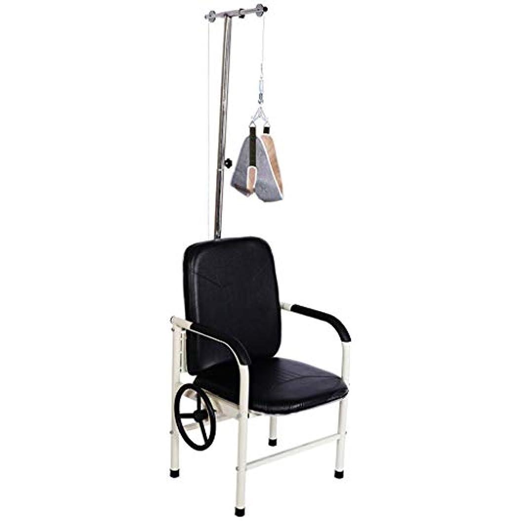 素子ところでストラトフォードオンエイボン頚部牽引椅子、家庭用牽引フレーム治療器具ぶら下げネックフレーム固定ネックサポート、それは誰のために首の痛みを和らげることができます,Leather