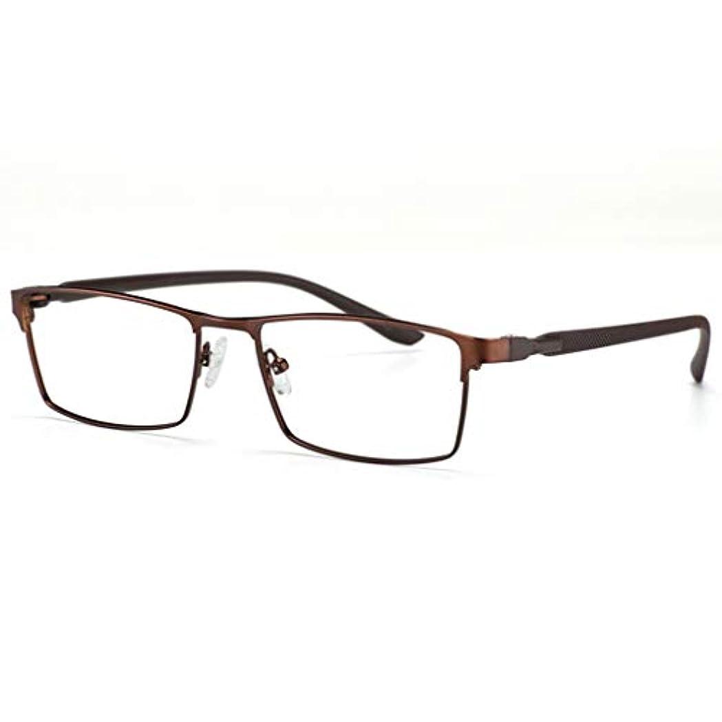 フォトクロミック老眼鏡、メモリメタルフレームアンチブルーライトアンチUVサングラス