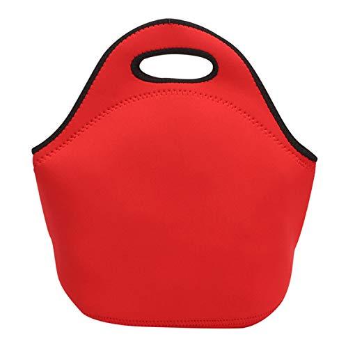 ネオプレンランチバッグ トートバッグ 断熱 再利用可能 保冷...