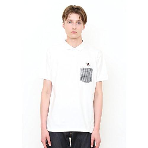 (グラニフ)graniph ウーブンポケット半袖ポロシャツ / ジェントルマンスタイル ( ホワイト ) L