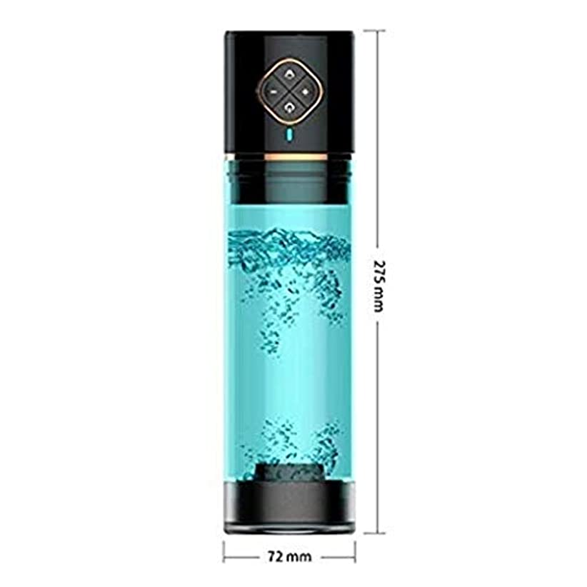 クリア宿命伝記Risareyi リアルな10インチPënnïs圧力ポンプPënïs拡張機能強力な吸引USB充電機能を備えたより大きな機能ツール