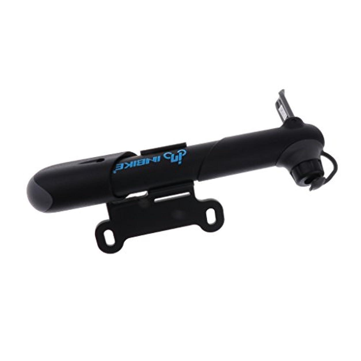 限られたレイアロケーションBaoblaze 高圧 ミニ ポータブル 自転車 空気 ポンプ 固定式 マウント付き バイク タイヤ 携帯ポンプ インフレータ