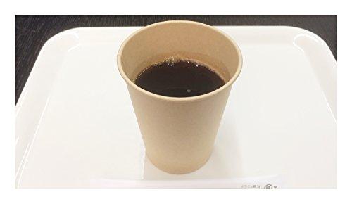 ファーストレイト 紙コップ 未晒しコップ 9オンス 約270mL 100個入り 無漂白 未晒しカップ FR-276