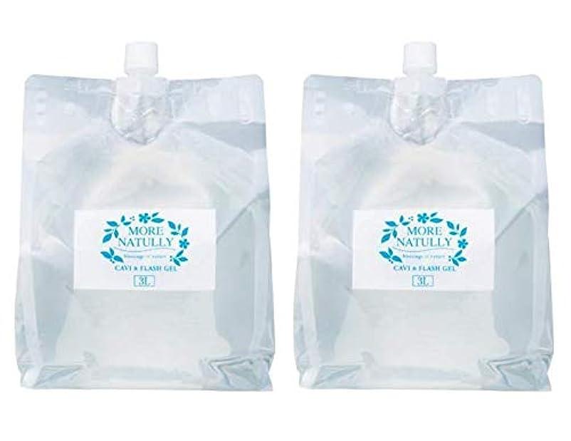 一般的に言えば摂氏度擁するモアナチュリー キャビ&フラッシュジェル 【ソフト】3kg×2袋