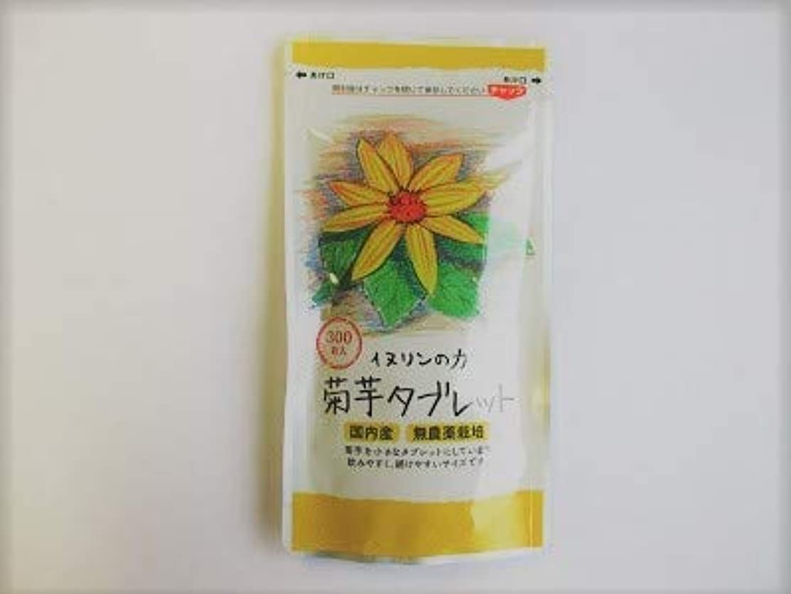 書誌注ぎます革命菊芋タブレット 250mg×300粒 内容量:75g ★1袋で生菊芋=660g分相当です!