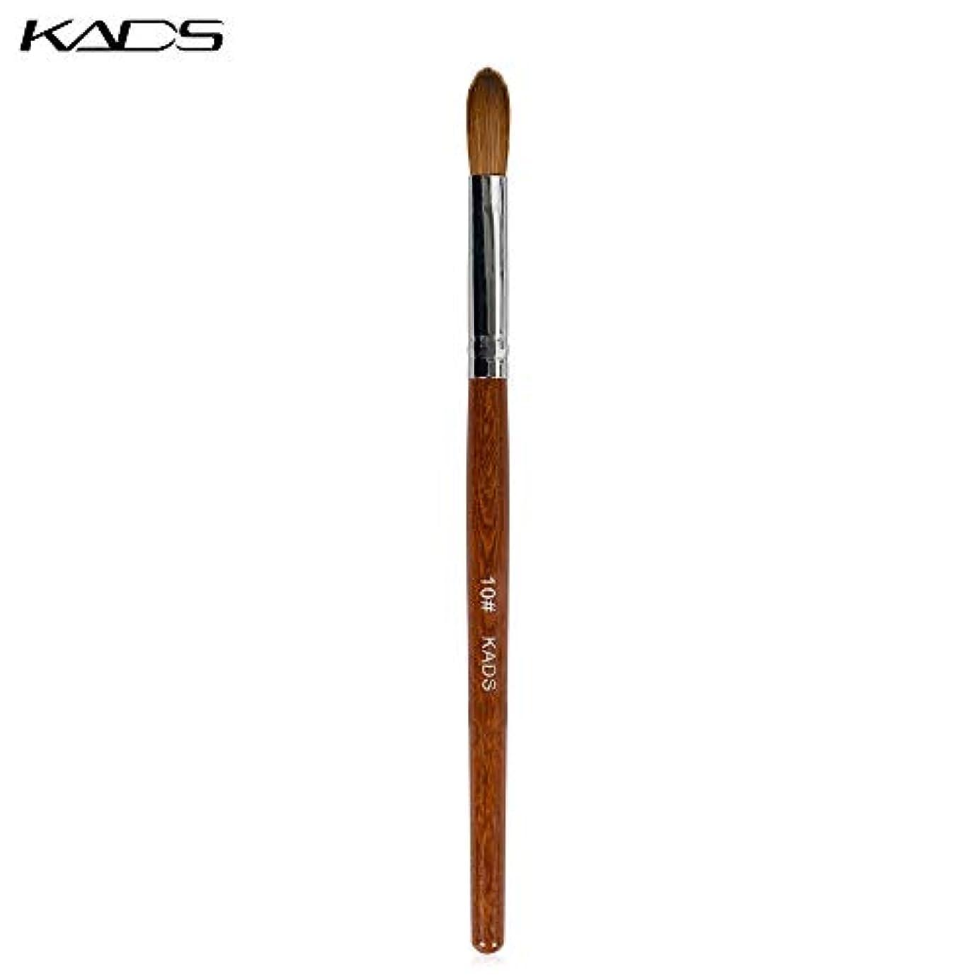 する必要があるピカソ一口KADS ネイルブラシ 10# ジェルネイル用筆 アクリルネイルブラシ ネイルアート専用筆(10#)