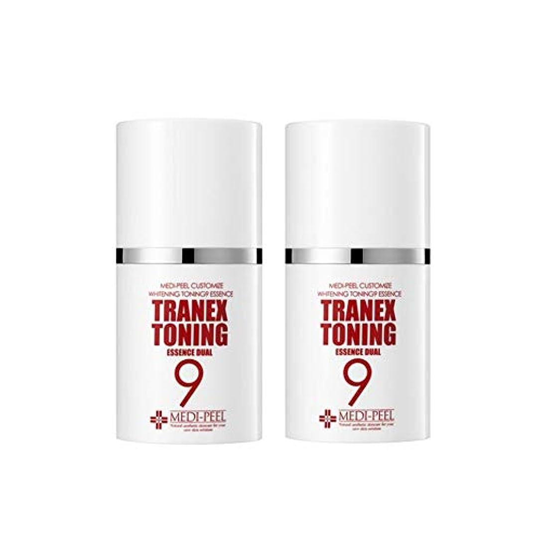 ラウンジ記憶に残る記憶に残るメディピル?トラネック調9エッセンスデュアル50mlx2本セット美白クリーム韓国コスメ、Medi-Peel Tranex Toning 9 Essence Dual 50ml x 2ea Set Whitening Cream Korean Cosmetics [並行輸入品]