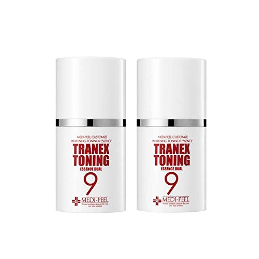 王朝財団襟メディピル?トラネック調9エッセンスデュアル50mlx2本セット美白クリーム韓国コスメ、Medi-Peel Tranex Toning 9 Essence Dual 50ml x 2ea Set Whitening Cream...