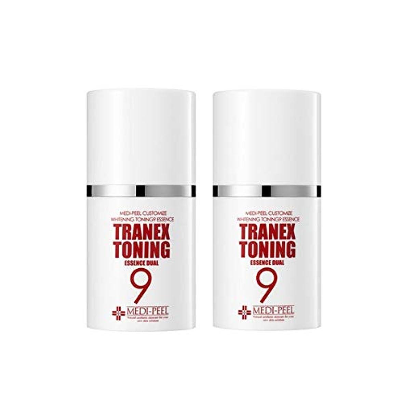 メディピル?トラネック調9エッセンスデュアル50mlx2本セット美白クリーム韓国コスメ、Medi-Peel Tranex Toning 9 Essence Dual 50ml x 2ea Set Whitening Cream...