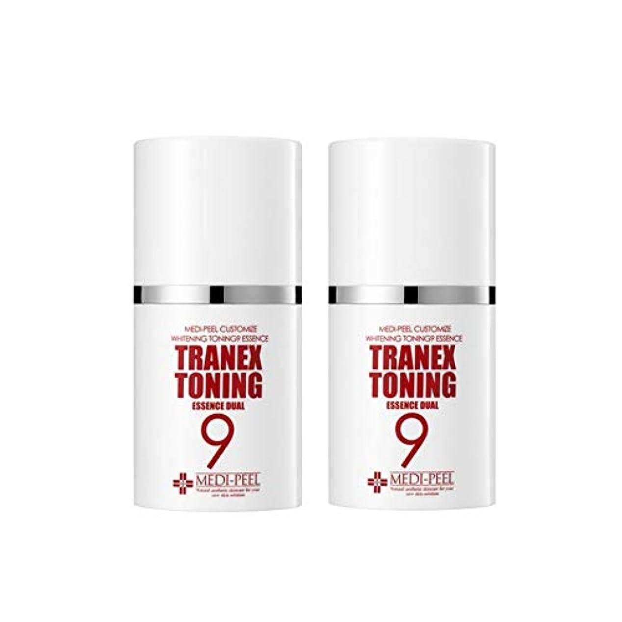 スクリューエロチックローラーメディピル?トラネック調9エッセンスデュアル50mlx2本セット美白クリーム韓国コスメ、Medi-Peel Tranex Toning 9 Essence Dual 50ml x 2ea Set Whitening Cream...