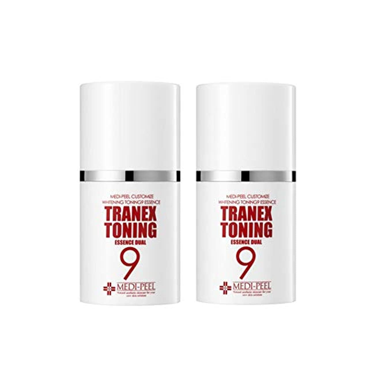 作りますメッセージ判定メディピル?トラネック調9エッセンスデュアル50mlx2本セット美白クリーム韓国コスメ、Medi-Peel Tranex Toning 9 Essence Dual 50ml x 2ea Set Whitening Cream...