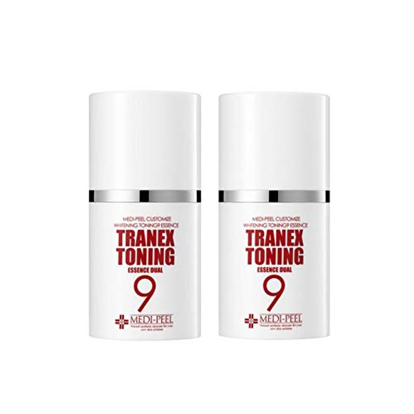 騙すアフリカ人寸法メディピル?トラネック調9エッセンスデュアル50mlx2本セット美白クリーム韓国コスメ、Medi-Peel Tranex Toning 9 Essence Dual 50ml x 2ea Set Whitening Cream...