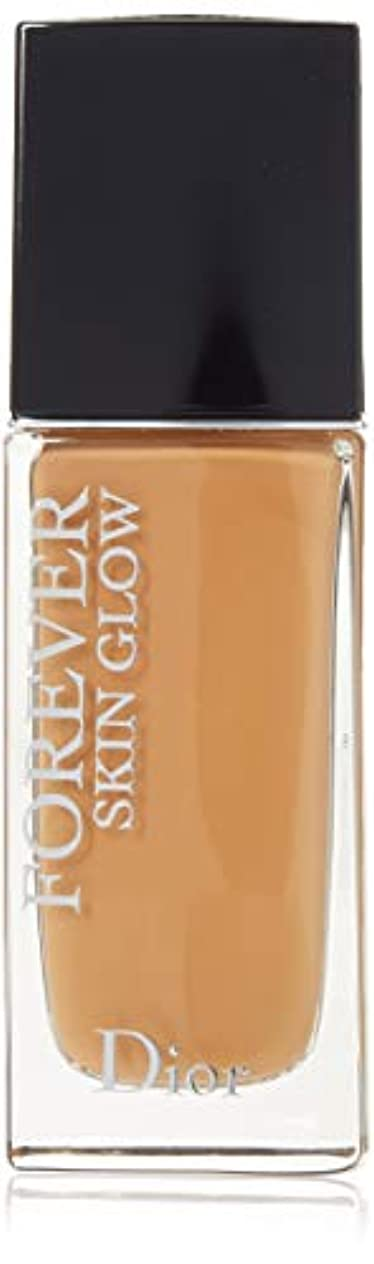 頭元の剃るクリスチャンディオール Dior Forever Skin Glow 24H Wear High Perfection Foundation SPF 35 - # 4.5N (Neutral) 30ml/1oz並行輸入品