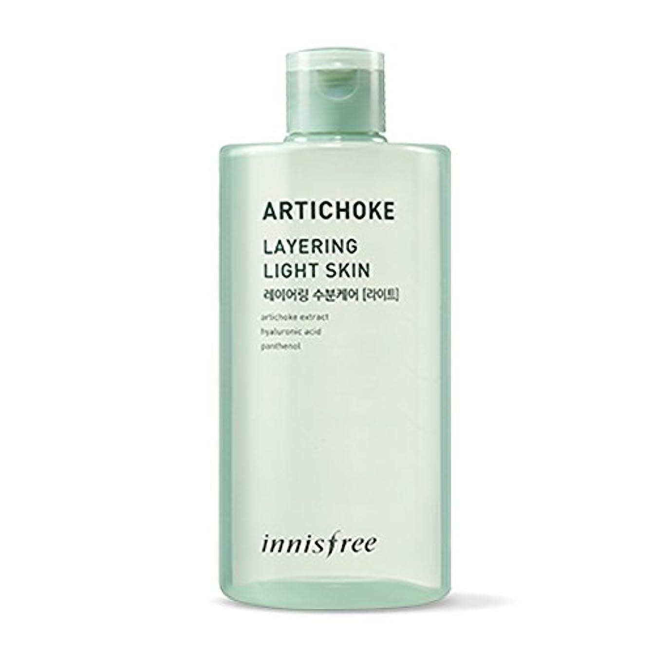 バッフル胃慎重イニスフリーアーティチョークレイヤーライトスキン(トナー)400ml Innisfree Artichoke Layering Light Skin (Toner) 400ml [海外直送品] [並行輸入品]