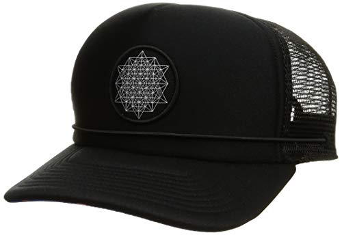 [ダカイン] [ユニセックス] 速乾 サーフキャップ (ドローコード)[ AJ231-918 / KASSIA LDW TRCK ] 海 プール 帽子 BLK_ブラック US F (FREE サイズ)