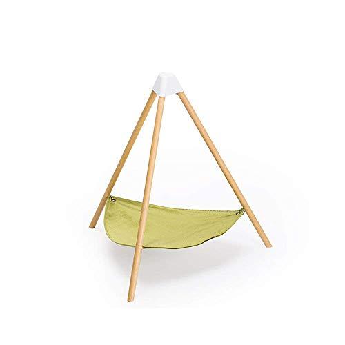 pidan 猫 ハンモック ベッド 猫ベッド キャット ハンモック 吊り下げ 自立 (M-グリーン)
