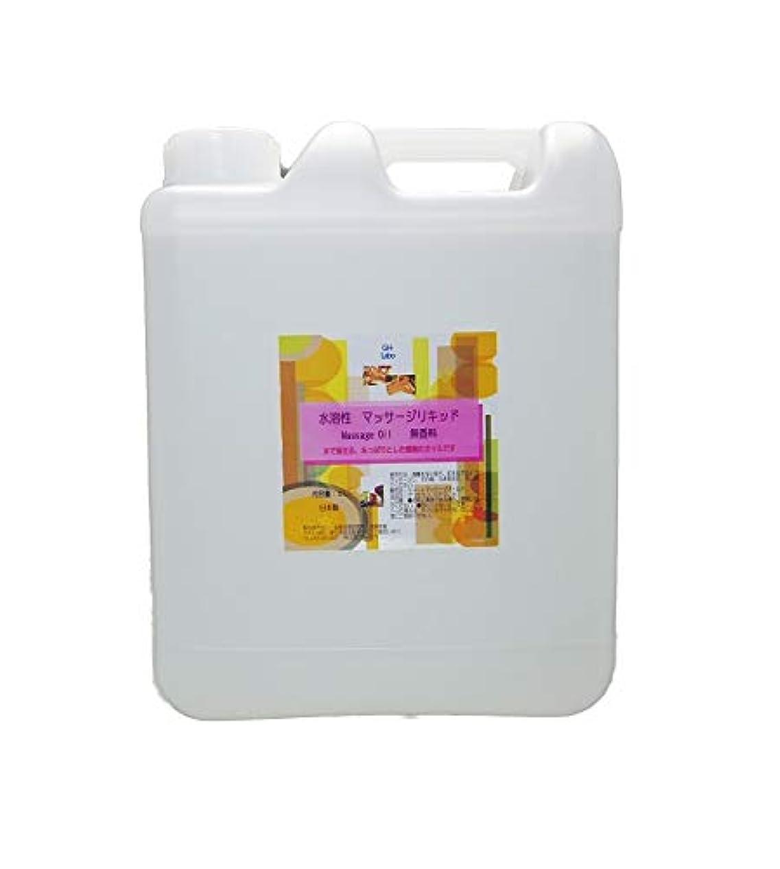 抜本的な家族弱めるGH-Labo 水溶性マッサージリキッド(マッサージオイル) 5L