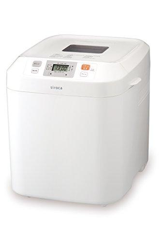 siroca 全自動ホームベーカリー SB-111[タイマー/最大2斤/ ジャム/バター/蕎麦/うどん/餅つき機]